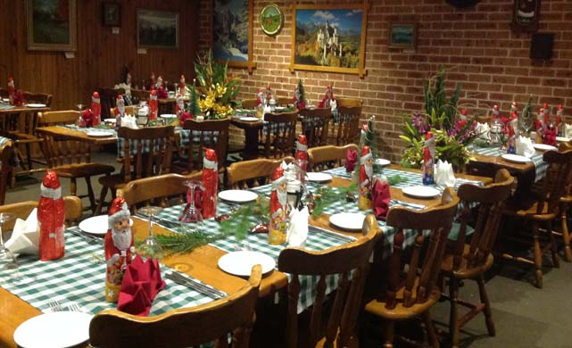 Christmas at Kaiser Stub'n Restaurant - Authentic Austrian and German cuisine